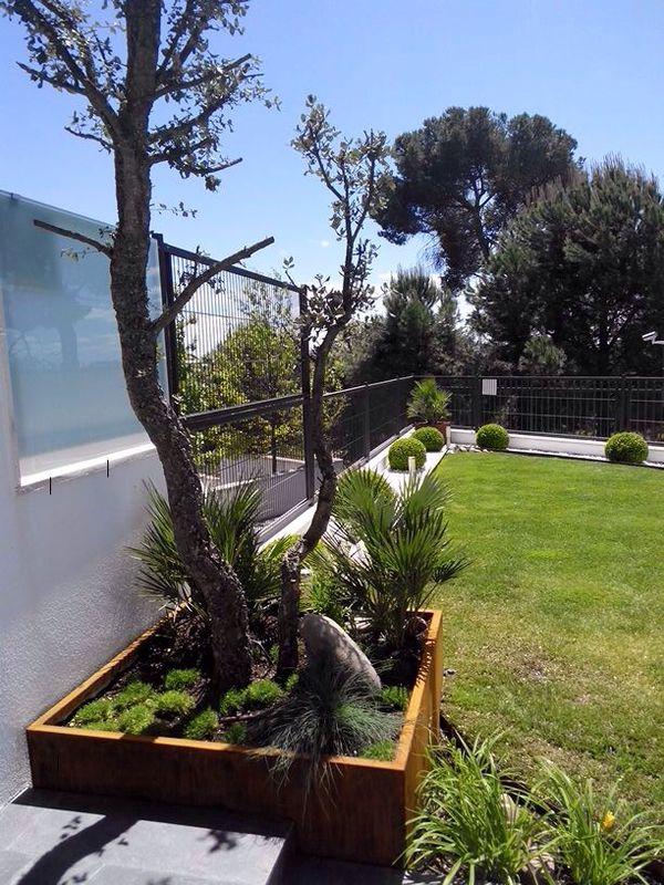 jardin acero corten 3