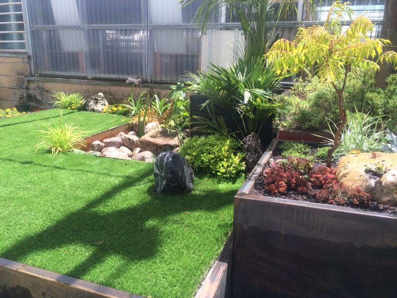 jardin acero corten 7
