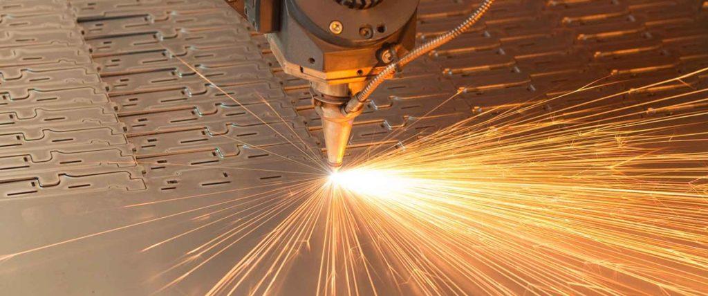 laser acero corten