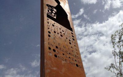 Señales verticales en Olmeda de las Fuentes