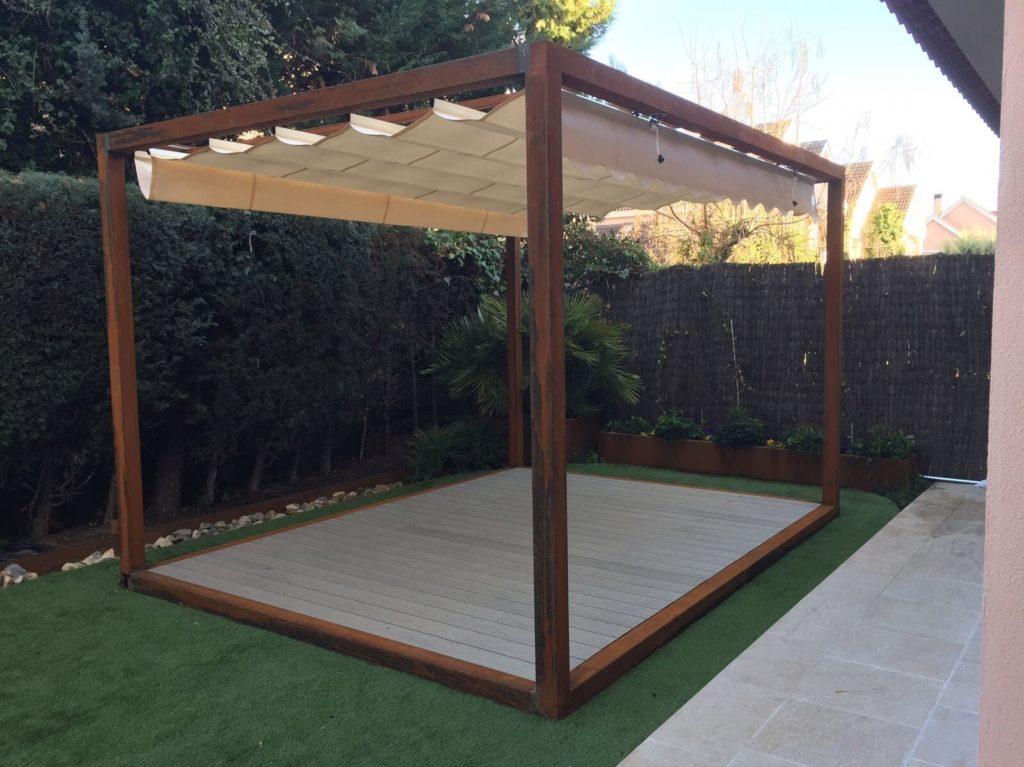 jardín espacio